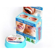 Безсульфатная тайская зубная паста Prim Perfect 25 гр