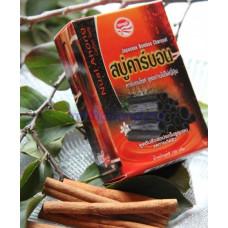 Бамбуковое черное натуральное мыло 120 гр