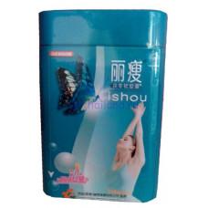 Капсулы для снижения веса Lishou 36 капсул металлический контейнер