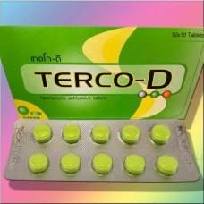 Таблетки от кашля из Тайланда TERCO-D 10 шт