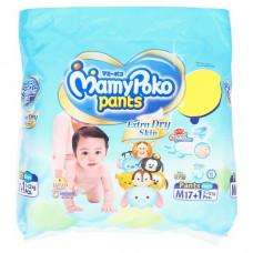 Детские подгузники-трусики Экстра впитывающие M MamyPoko Pants 18 шт
