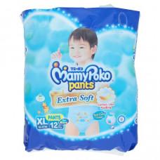 Детские подгузники-трусики для мальчиков XL MamyPoko Pants 12 шт