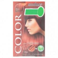 Стойкая краска для волос с кератином тон Махагон Audace Color 1 уп