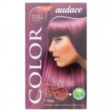 Стойкая краска для волос с кератином тон Бургунди Audace Color 1 уп