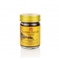 Тайский черный бальзам с ядом скорпиона 50 гр