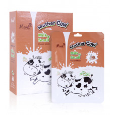 Тканевая маска для лица Молоко и Улитка Belov 1 шт