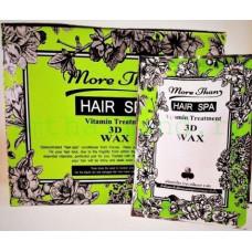 Лечение волос воском и витаминами за 1 минуту, тайская экспресс маска 3D Wax