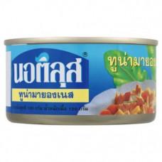 Рыбные консервы Тунец в майонезе Nautilus 185 гр