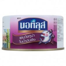 Рыбные консервы Тунец в масле Nautilus 185 гр