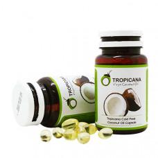 Кокосовое масло в капсулах для приема внутрь Tropicana 60 шт