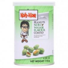 Жареный арахис Koh-Kae Nori Wasabi со вкусом нори и васаби 115 гр