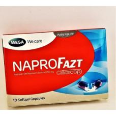 Тайские капсулы от боли и воспаления NaproFazt 10 капсул