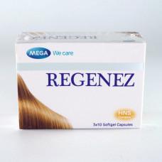 Тайские витамины для волос Regenez 30 капсул
