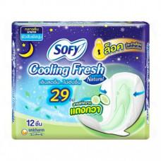 Тайские прокладки охлаждающие с экстрактом огурца Sofy 12 шт