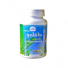 Тайские таблетки для печени Лук Тай Бай Kongka Herb 100 капсул