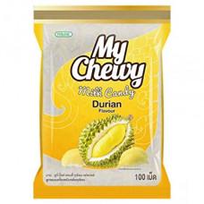 Тайские конфеты жевательные с мякотью дуриана My Chewy 360 гр