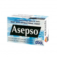 Тайское мыло антибактериальное с ментолом Asepso 1 шт