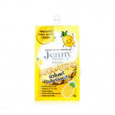 Крем для лица ананасовый с витамином С Jenny Sweet 7 гр