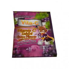 Тайские витамины Виноград Vita C 30 таблеток