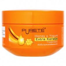 Тайская маска для волос с кератином Puret Honey & Yogurt 250 мл