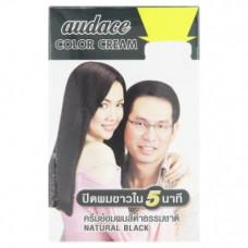 Краска для волос цвет черный Audace Natural Black Color 1 уп