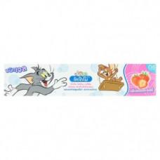 Тайская зубная паста для детей Клубника Kodomo Strawberry 40 гр
