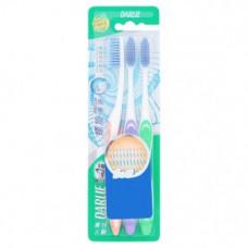 Набор зубных щеток Darlie Spiral Clean Slim 3 шт