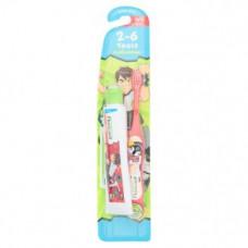 Детская зубная щетка для детей 2-6 лет Fluocaril Ben10 2-6 лет 1 шт