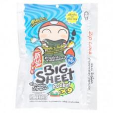 Хрустящие чипсы из морских водорослей с рыбным вкусом  Tao Kae Noi Seafood Flavor Big Sheet Fried Seaweed 31,5 гр
