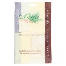Мочалка из люфы для лица - малая Luffa Natural Sponge 1 шт