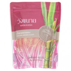 Настоящий тростниковый сахар - крупный помол Wangkanai 400 гр