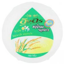 Тайское безсульфатное мыло на рисовом молочке 160 гр