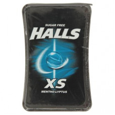 Мятные леденцы Холс по-тайски без сахара Halls XS 15 гр
