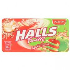 Леденцы от кашля Холс по-тайски Двойное Яблоко Halls 22 гр