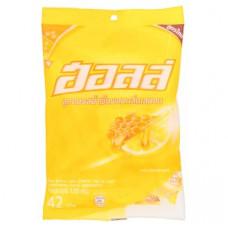 Леденцы от кашля Мед и Лимон Halls Honey-Lemon 42 шт