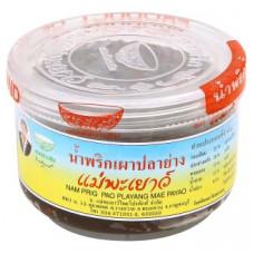 Тайская чили паста с рыбой Mae Payao 100 гр