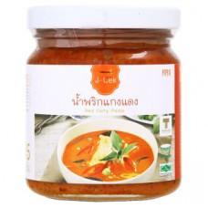 Тайский соус Красный Карри Lek Red Curry Paste 195 гр