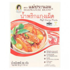 Тайская красная карри паста Mae Pranom Brand 50 гр