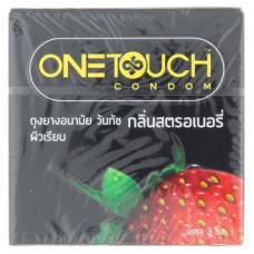 Презервативы Клубника One Touch 3 шт