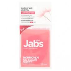 Матирующие салфетки для лица Jabs 30 шт