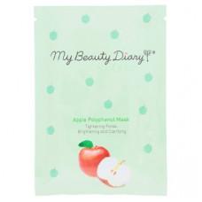 Антиоксидантная маска для лица от морщин с яблоком My Beauty Diary