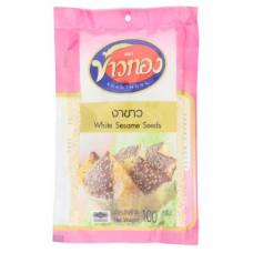 Кунжут белый Khaothong White Sesame Seeds 100 гр