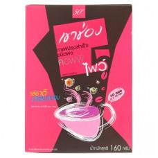 Тайский кофе растворимый Мягкий микс Khao Shong Coffee Five 10 шт по 16 гр