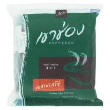 Тайский кофе растворимый Эспрессо Khao Shong Expresso 3in1 25 шт по 18 гр