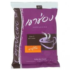 Тайский кофе растворимый Капучино Khao Shong 3 in 1 25 шт по 20 гр