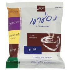 Тайский кофе растворимый Микс вкусов Khao Shong 5 Flavours 20 шт по 20 гр