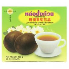 Чай с Ло Хань Го и хризантемой Luohanguo 10 пакетиков по 20 гр