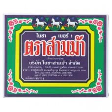 Тайский зеленый чай №1 Three Horses 80 гр