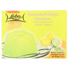 Желе из лимона Lobo Lemon Flavoured Gelatin Dessert 110 гр