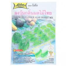 Тайский мармелад на основе агар-агар Lobo Thai Fruits Flavour 115 гр